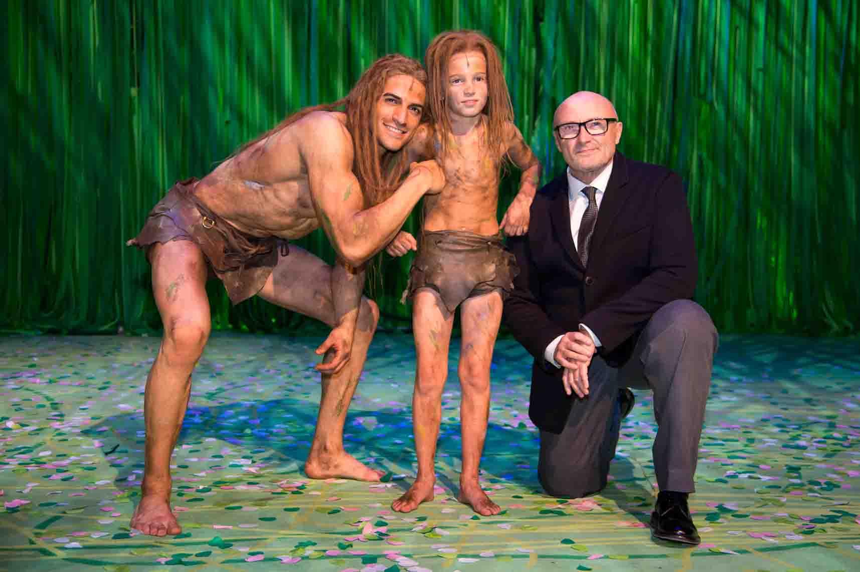 Tarzan der Cartoon nackt